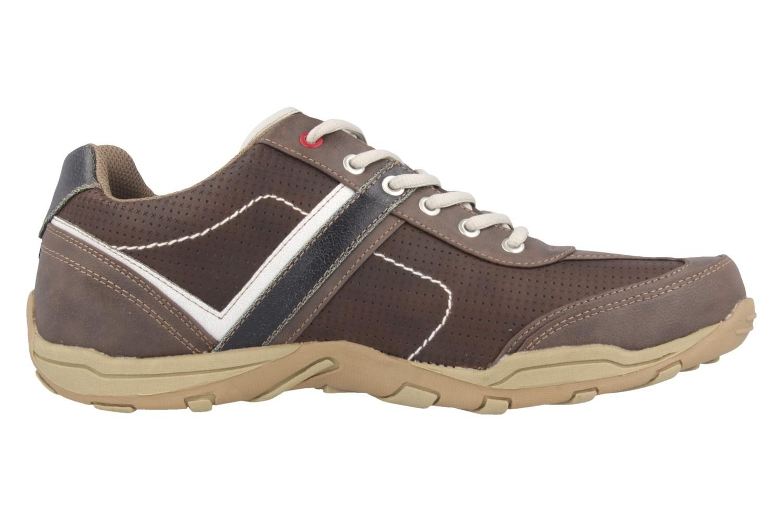 Mustang Shoes Halbschuhe in Übergrößen dunkelbraun 4027-310-32 große Herrenschuhe – Bild 3
