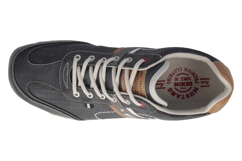 Mustang Shoes Halbschuhe in Übergrößen Grau 4027-310-200 große Herrenschuhe – Bild 4