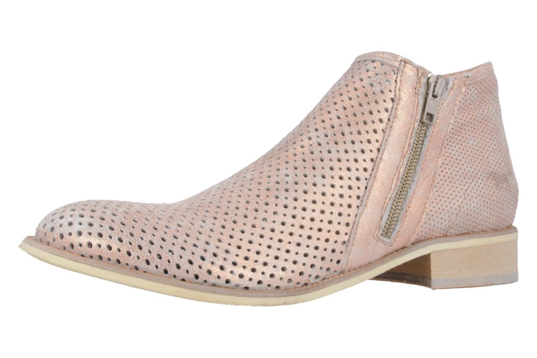 Mustang Shoes Boots in Übergrößen Pink 2856-501-555 große Damenschuhe – Bild 1