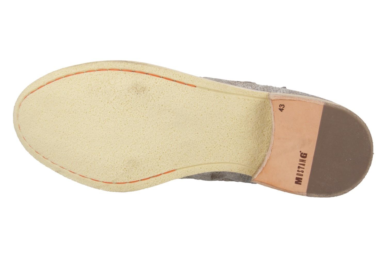 Mustang Shoes Boots in Übergrößen Braun 2856-501-221 große Damenschuhe – Bild 5