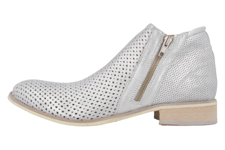 Mustang Shoes Boots in Übergrößen Silber 2856-501-21 große Damenschuhe – Bild 2
