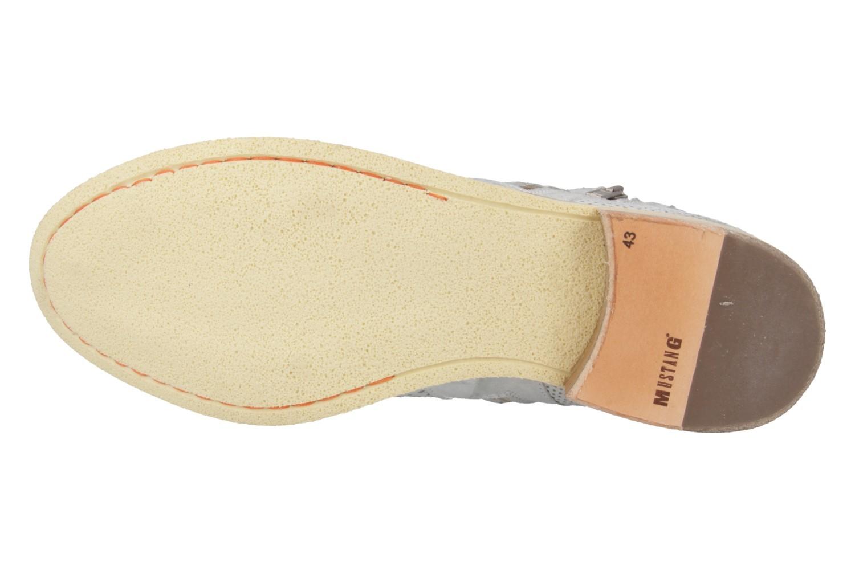 Mustang Shoes Boots in Übergrößen Silber 2856-501-21 große Damenschuhe – Bild 5
