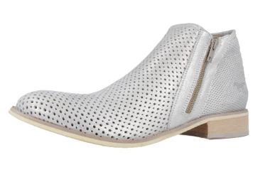 Mustang Shoes Boots in Übergrößen Silber 2856-501-21 große Damenschuhe