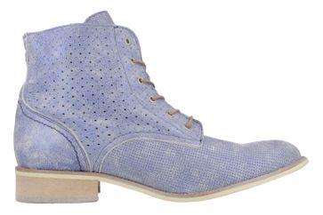 Mustang Shoes Boots in Übergrößen Blau 2856-502-8 große Damenschuhe – Bild 3