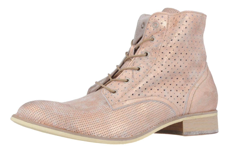 Mustang Shoes Boots in Übergrößen Pink 2856-502-555 große Damenschuhe – Bild 1