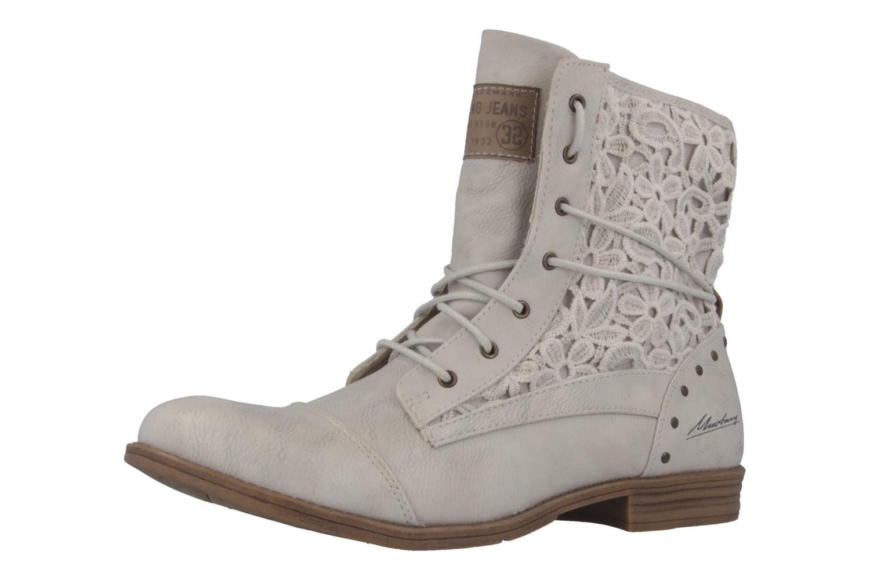 Mustang Shoes Boots in Übergrößen Grau 1157-527-203 große Damenschuhe – Bild 1