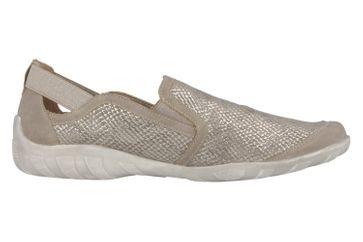 REMONTE - Damen Slipper - Silber Schuhe in Übergrößen – Bild 3