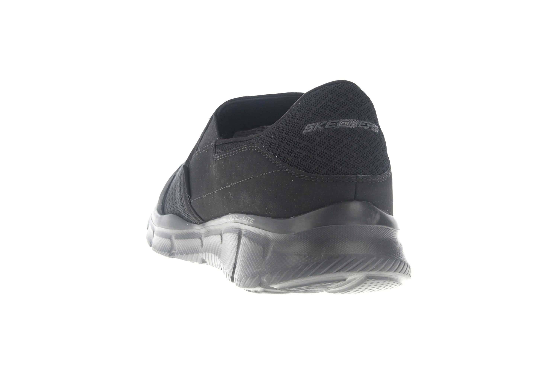 Skechers Sneakers in Übergrößen Schwarz 51361/BBK große Herrenschuhe – Bild 2
