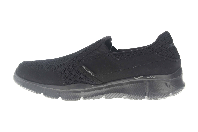 Skechers Sneakers in Übergrößen Schwarz 51361/BBK große Herrenschuhe – Bild 1