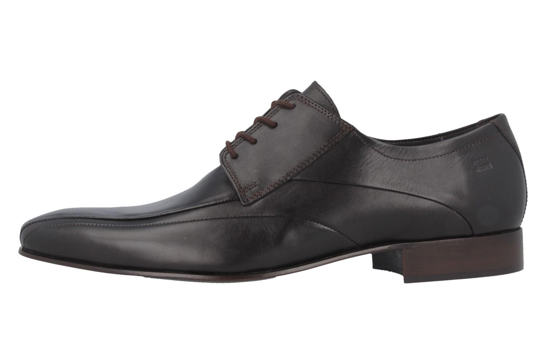 Fretz Men Business-Schuhe in Übergrößen Braun 1208.1729-38 große Herrenschuhe – Bild 2