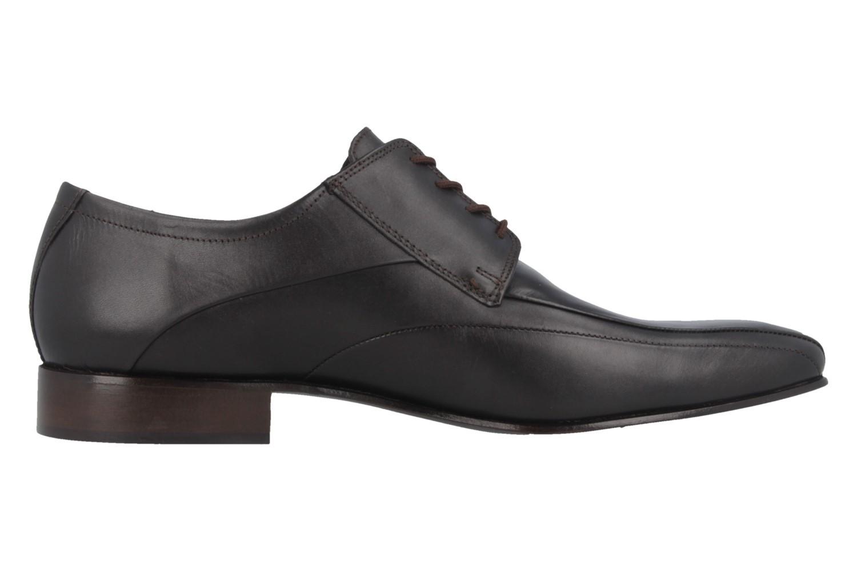 Fretz Men Business-Schuhe in Übergrößen Braun 1208.1729-38 große Herrenschuhe – Bild 3
