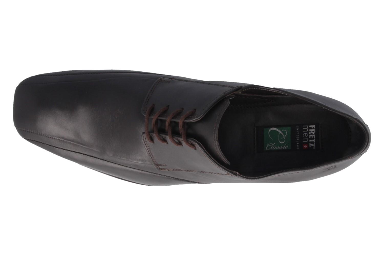 Fretz Men Business-Schuhe in Übergrößen Braun 1208.1729-38 große Herrenschuhe – Bild 4