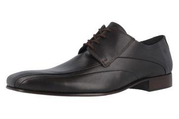 Fretz Men Business-Schuhe in Übergrößen Braun 1208.1729-38 große Herrenschuhe – Bild 1