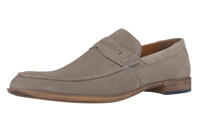 FRETZ MEN - Avion - Herren Mokassin - Grau Schuhe in Übergrößen – Bild 1