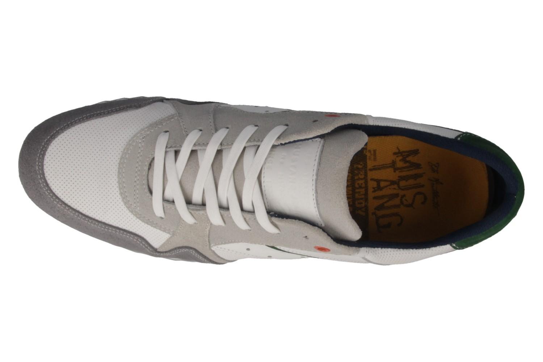 Mustang Shoes Sneaker in Übergrößen Grau 4898-301-211 große Herrenschuhe – Bild 5