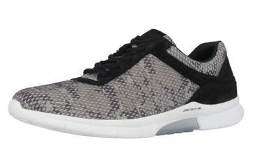 GABOR - Rolling Soft - Damen Sneaker - Grau/Schwarz Schuhe in Übergrößen – Bild 1