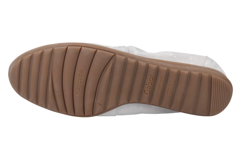 GABOR comfort - Damen Slipper - Weiß Schuhe in Übergrößen – Bild 5