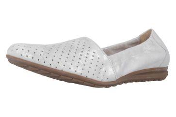 Gabor Slipper in Übergrößen Weiß 42.626.92 große Damenschuhe – Bild 1