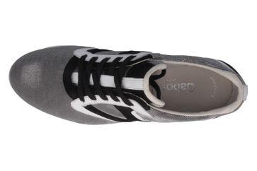 Gabor Sneaker in Übergrößen Grau 44.371.49 große Damenschuhe – Bild 4
