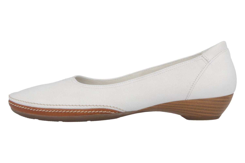 Gabor Ballerinas in Übergrößen Weiß 04.280.21 große Damenschuhe – Bild 2