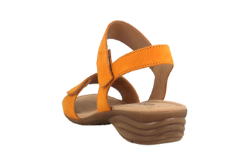 Gabor Sandaletten in Übergrößen Gelb 44.552.13 große Damenschuhe – Bild 2