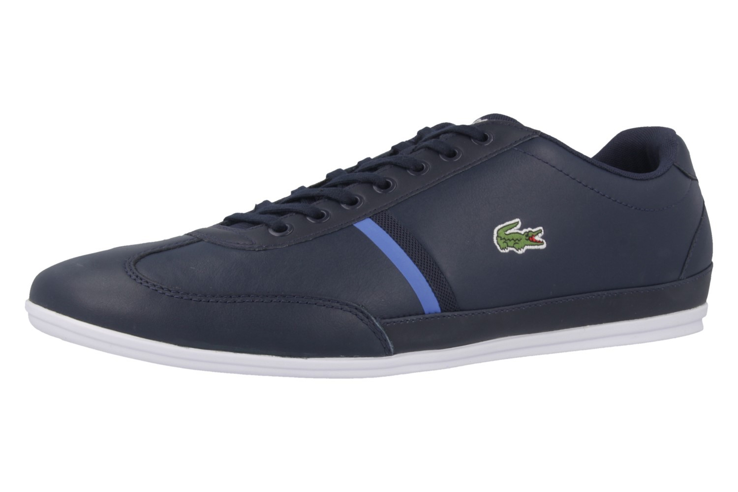 lacoste misano sport 116 herren sneaker blau schuhe in bergr en herrenschuhe in. Black Bedroom Furniture Sets. Home Design Ideas
