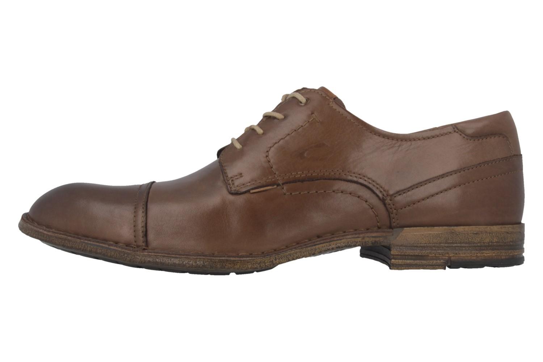 Camel Active Business-Schuhe in Übergrößen Braun 456.11.03 große Herrenschuhe – Bild 2