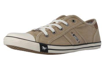 MUSTANG - Damen Sneaker - Beige Schuhe in Übergrößen