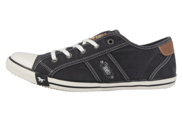 Mustang Shoes Sneaker in Übergrößen schwarz 1099-302-9 große Damenschuhe – Bild 2