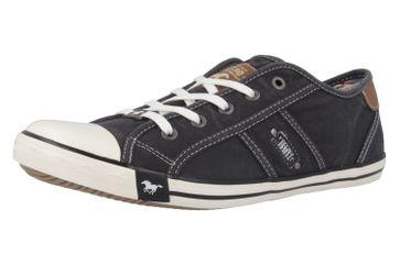 Mustang Shoes Sneaker in Übergrößen Schwarz 1099-302-9 große Damenschuhe