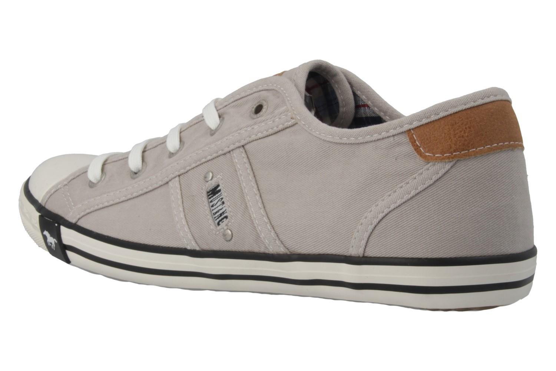 Mustang Shoes Sneaker in Übergrößen Grau 1099-302-22 große Damenschuhe – Bild 2