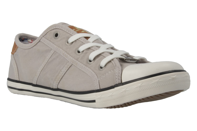 Mustang Shoes Sneaker in Übergrößen Grau 1099-302-22 große Damenschuhe – Bild 4