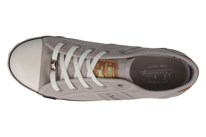 Mustang Shoes Sneaker in Übergrößen Grau 1099-302-22 große Damenschuhe – Bild 5