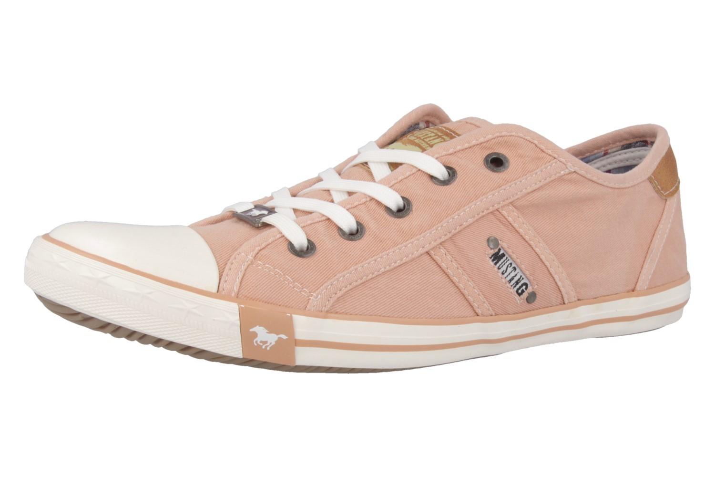 Mustang Shoes Sneaker in Übergrößen Pink 1099-302-630 große Damenschuhe – Bild 1