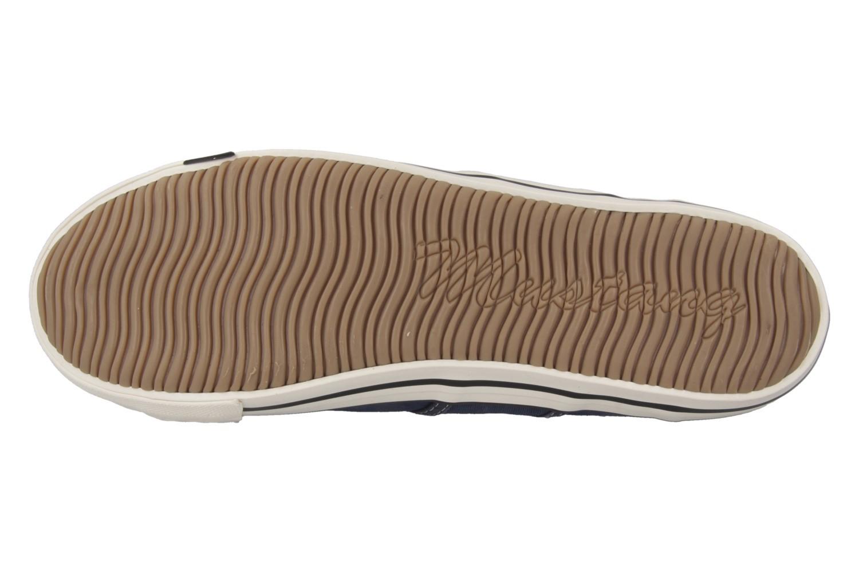 Mustang Shoes Sneaker in Übergrößen Blau 1099-302-841 große Damenschuhe – Bild 5