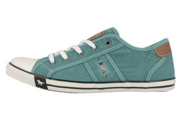 Mustang Shoes Sneaker in Übergrößen Grün 1099-302-760 große Damenschuhe – Bild 2