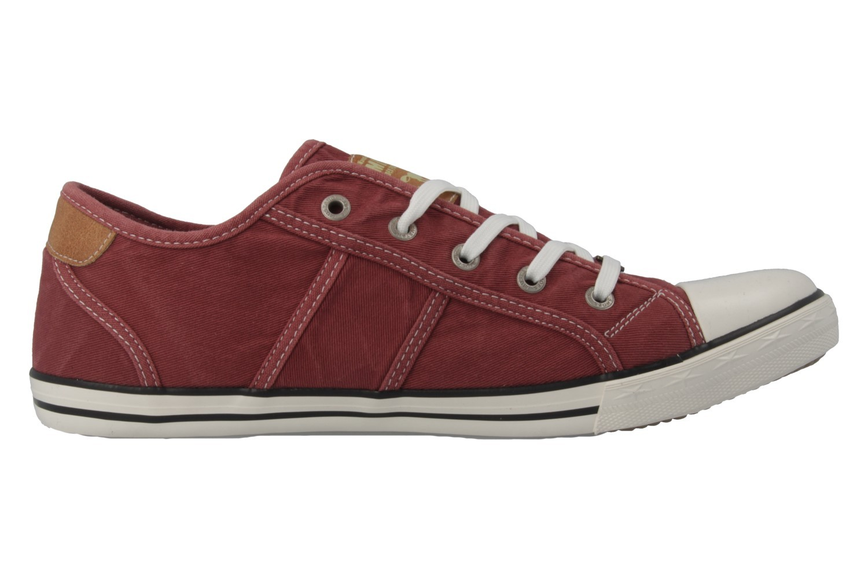 Mustang Shoes Sneaker in Übergrößen Rot 1099-302-55 große Damenschuhe – Bild 3
