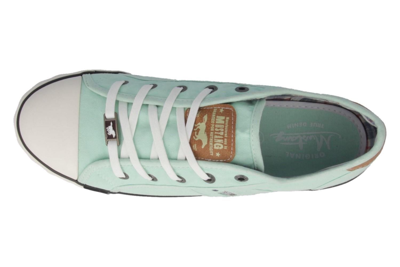 Mustang Shoes Sneaker in Übergrößen lindgrün 1099-302-702 große Damenschuhe – Bild 4