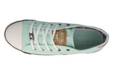 Mustang Shoes Sneaker in Übergrößen Grün 1099-302-702 große Damenschuhe – Bild 4