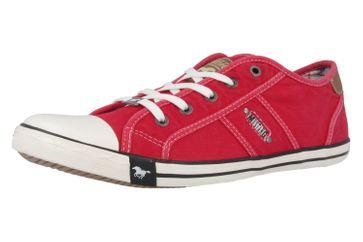 Mustang Shoes Sneaker in Übergrößen rot 1099-302-5 große Damenschuhe – Bild 1