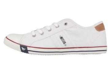 Mustang Shoes Sneaker in Übergrößen Weiß 1099-302-1 große Damenschuhe – Bild 2