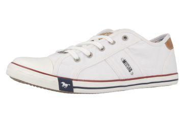 Mustang Shoes Sneaker in Übergrößen weiß 1099-302-1 große Damenschuhe