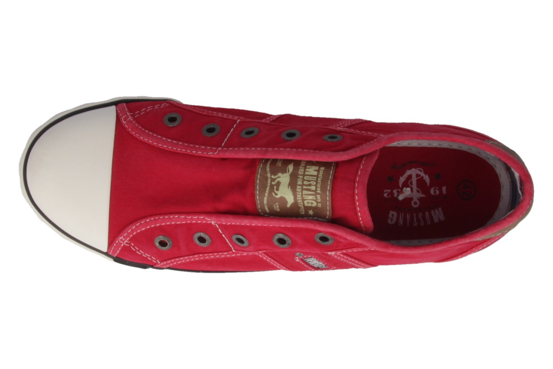 MUSTANG - Damen Sneaker - Rot Schuhe in Übergrößen – Bild 4