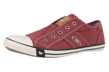 Mustang Shoes Slipper in Übergrößen Rot 1099-401-55 große Damenschuhe – Bild 1