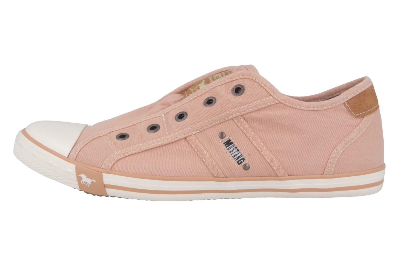 MUSTANG - Damen Sneaker - Pfirsich Schuhe in Übergrößen – Bild 2