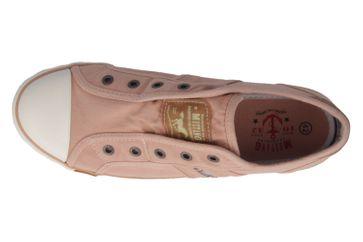 MUSTANG - Damen Sneaker - Pfirsich Schuhe in Übergrößen – Bild 4