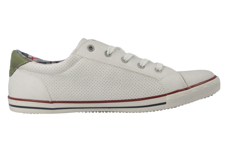 Mustang Shoes Sneaker in Übergrößen Weiß 1099-304-17 große Damenschuhe – Bild 3