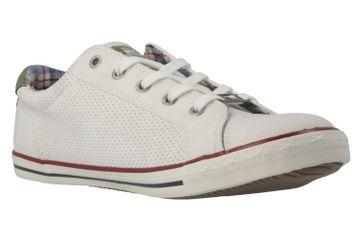 Mustang Shoes Sneaker in Übergrößen Weiß 1099-304-17 große Damenschuhe – Bild 4