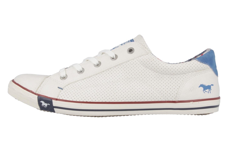 MUSTANG - Damen Sneaker - Weiß Schuhe in Übergrößen – Bild 2