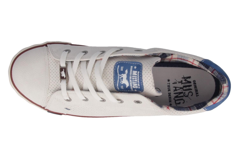 MUSTANG - Damen Sneaker - Weiß Schuhe in Übergrößen – Bild 4